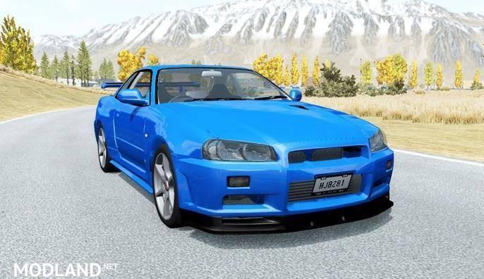 Nissan Skyline GT-R V-Spec II (BNR34) 2000 [0.15.0]